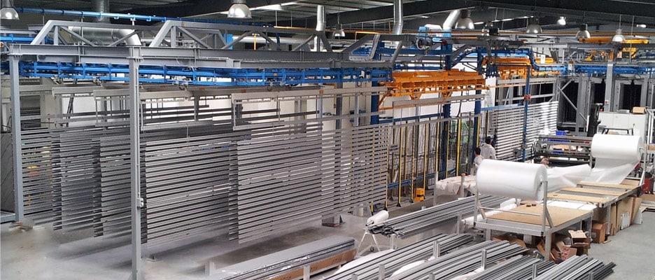 Intérieur de l'usine Laplace
