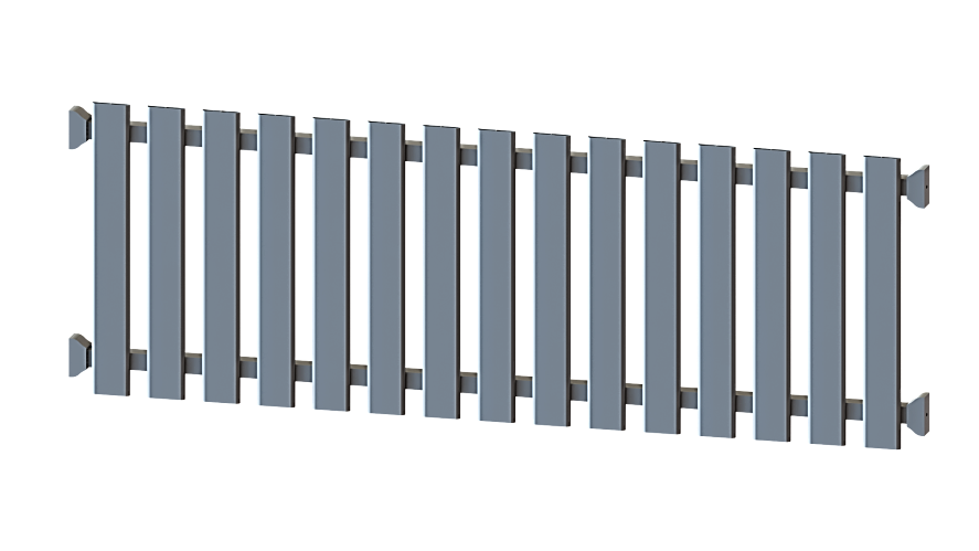 clôture piraillan