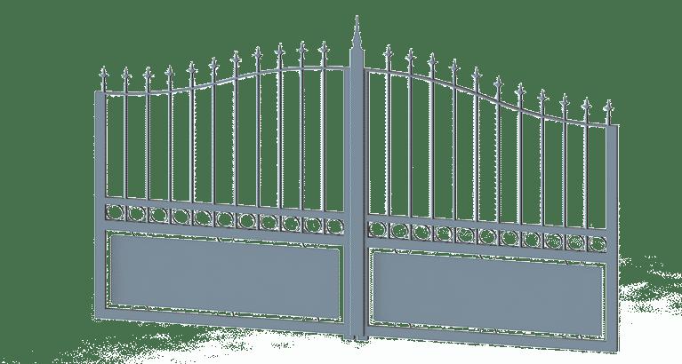 portail-battant-tradition-galbé-Lys