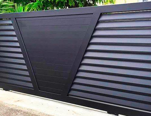 Portail aluminium Audenge