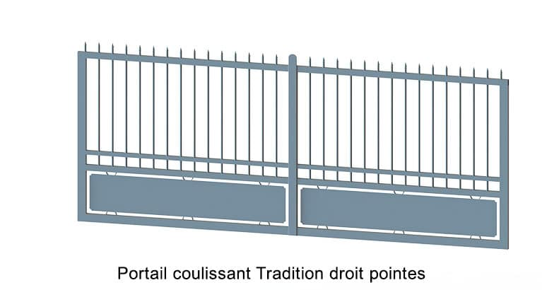 tradition-coulissant-droit-pointes
